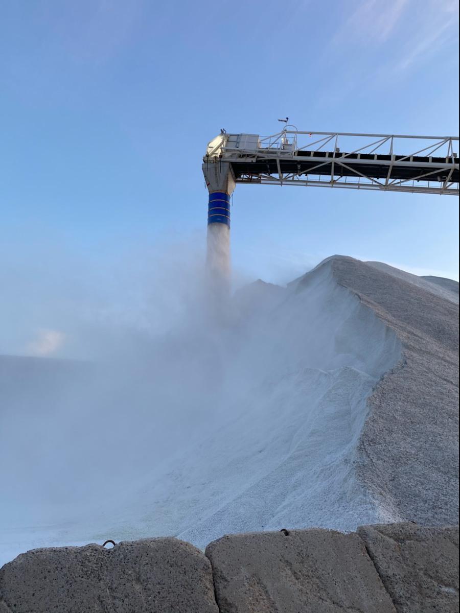 'Return to Normal' for Salt Supply